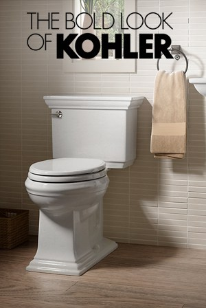 25% Off All KOHLER Bathroom Products including Toilets