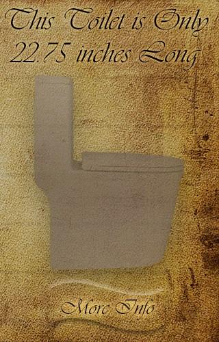 Winzo 22.75-inch Toilet