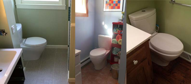 Toilets For Small Bathrooms Space Saving