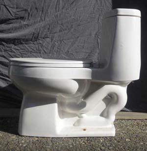 KOHLER Santa Rosa Toilet Side View