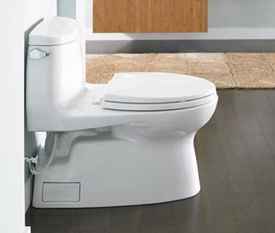 Toto Carlyle Ii 1g One Piece High Efficiency Toilet With
