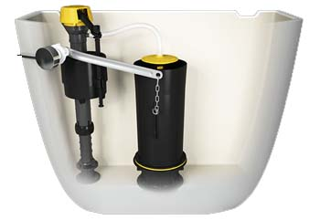 AquaPiston Flushing System