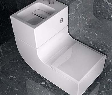 Save Water And Money With A Toilet Sink Combo Toilet Found