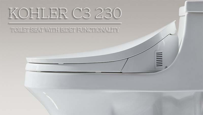 kohler c3 230 toilet seat with bidet