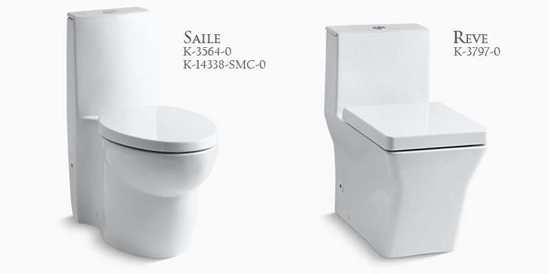 Kohler One Piece Dual Flush Toilets