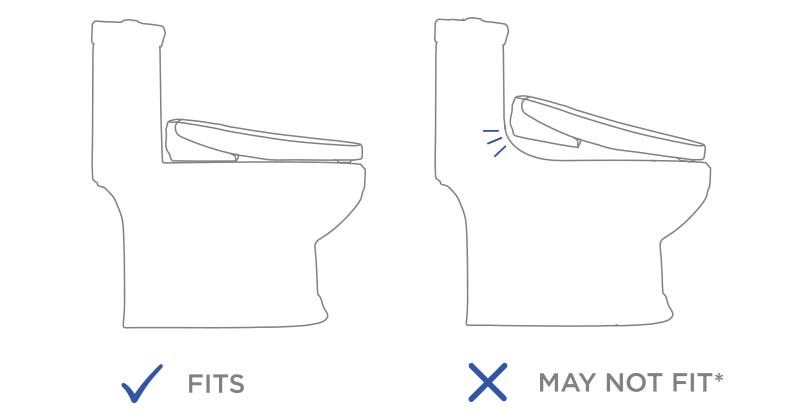 Washlet Fitting On One Piece Toilet