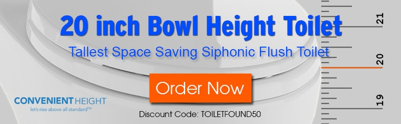 20-inch Toilet Pre-order