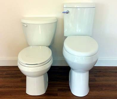 Extra High Bowl Toilet For The Elderly And Disabled Review
