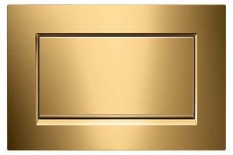 Geberit 115.893.45.1 Sigma30 Flush Plate polished gold finish