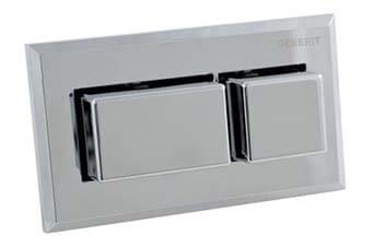 Geberit 115.934.21.1 Rectangle Flush Button Polished chrome finish