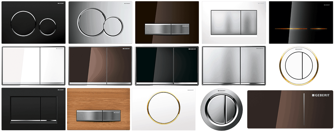 Geberit Flush Plates And Buttons