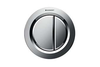 Geberit 116.050.21.1 Type 01 Flush Button Polished chrome finish