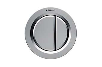 Geberit 116.050.46.1 Type 01 Flush Button Matte chrome finish