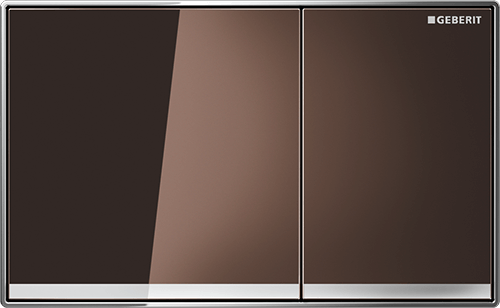 Sigma60 Flush Plate Glass Umber
