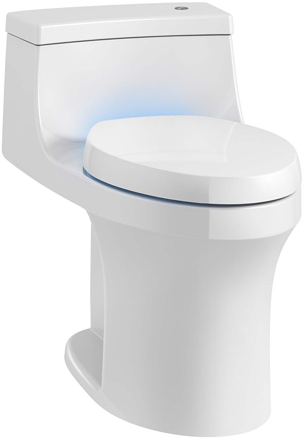 KOHLER K-8687 San Souci Comfort Height Touchless Flush with Purefresh Seat