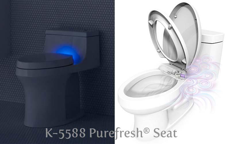 KOHLER K-5588 Purefresh Seat