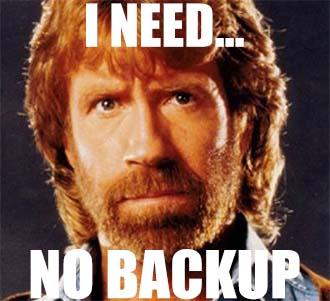 Chuck Norris - No Backup
