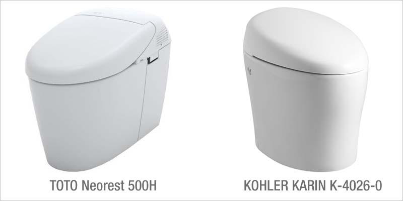 Neorest 500H Vs KOHLER Karin