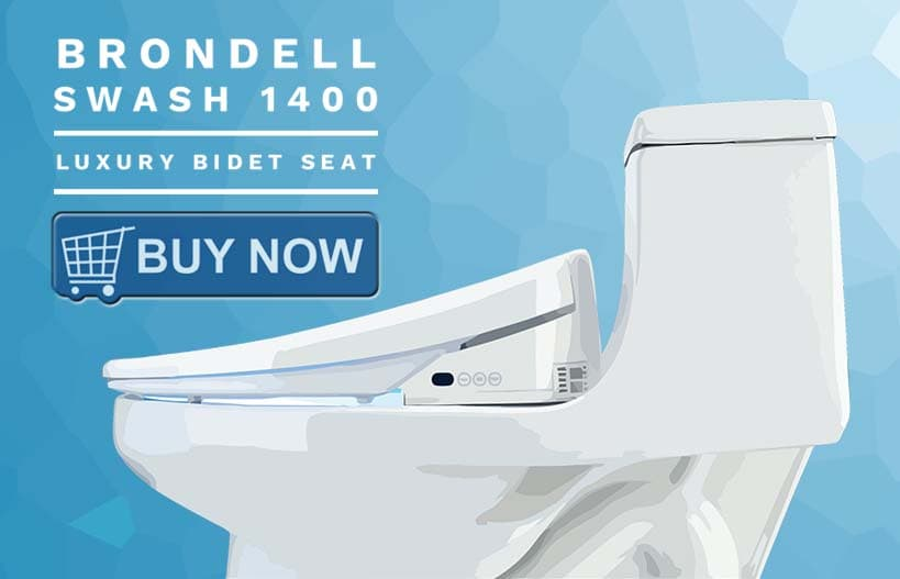 Brondell Swash 1400 Luxury Bidet Seat