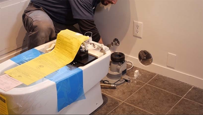 Smart Toilet Installation