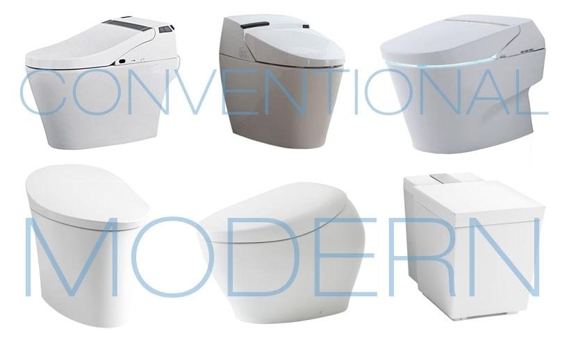 Smart Toilet Shapes