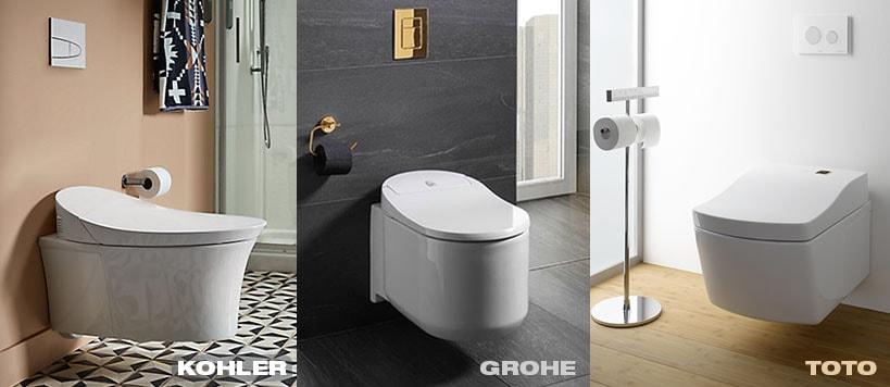 Wall Hung Smart Toilets