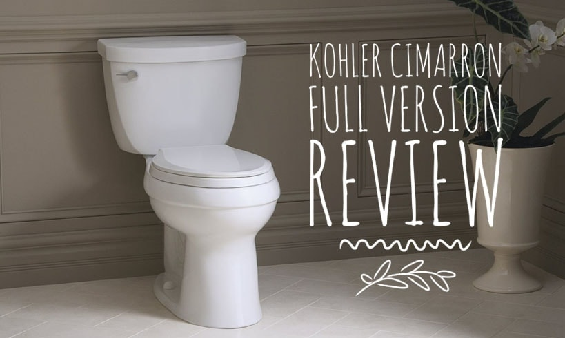 1 Powerful Flush To Rule Them All Kohler Cimarron Review