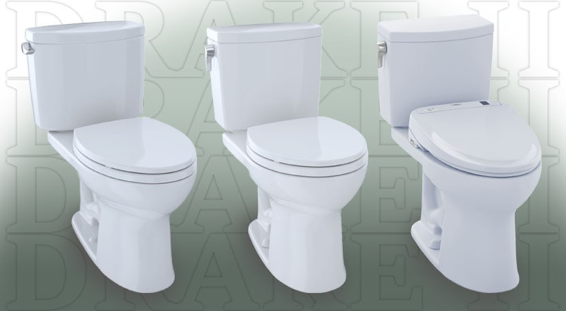 Toto Drake Ii Review Ful Flushing Two Piece Toilets