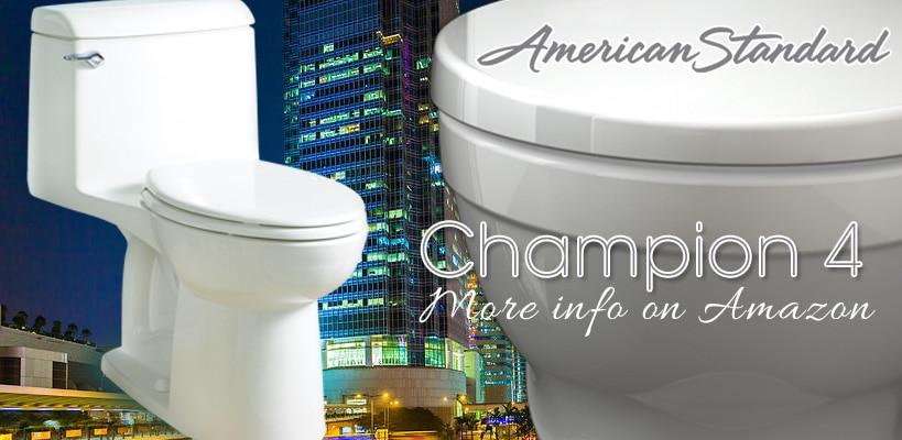 American Standard Champion 4 Toilets