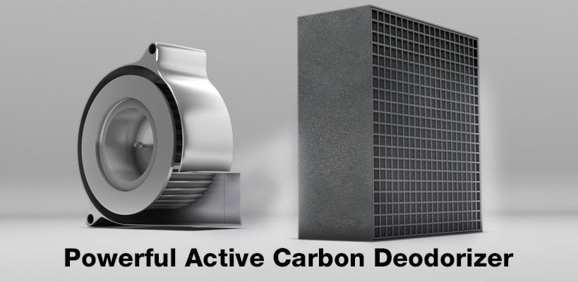 Active Carbon Deodorizer