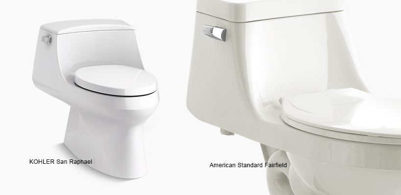 Toilets With French Curve