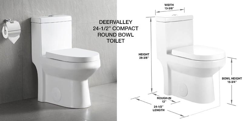 DeerValley Compact Toilet