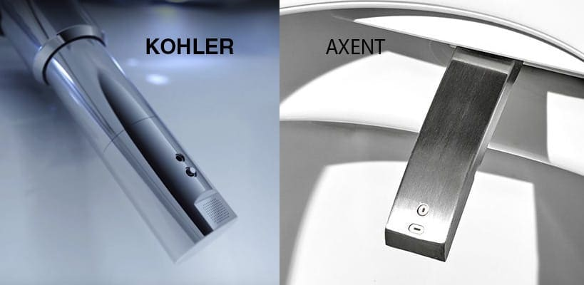 Nozzle Comparison - Axent vs KOHLER