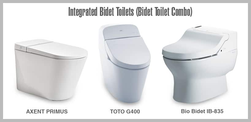 Integrated Bidet Toilets