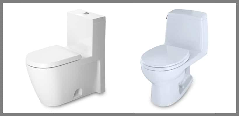 One-Piece Toilets