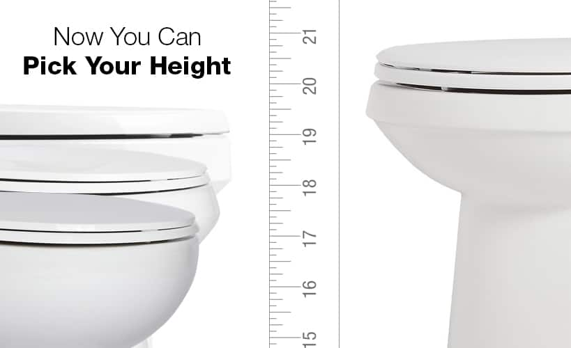 19 Inch Tall Bowl Toilet