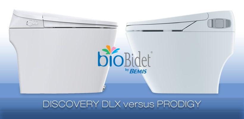 Discovery DLX vs Prodigy bidet toilet